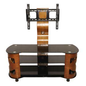 Mueble con Soporte Para TV Elements Furniture de Vidrio y MDF