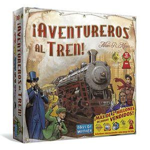 Juego de Mesa Days of Wonder - ¡Aventureros al tren!