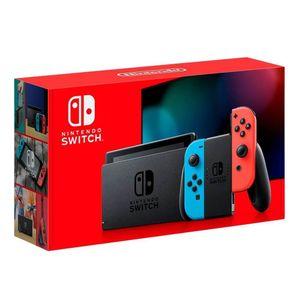 Consola Nintendo Switch Joy-Con (LR) Neon Rojo  Azul