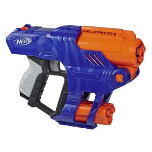 Pistola Nerf Lanza Dardos N-Strike Elite Shellstrike DS-6