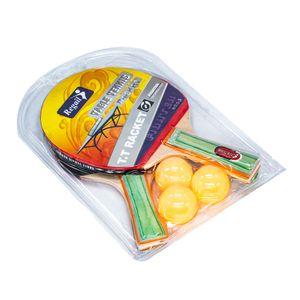 Raquetas Ping Pong Con Pelotas Star Toys