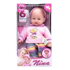 Muñeca Bebe Lissi Con Sonido - Surtido