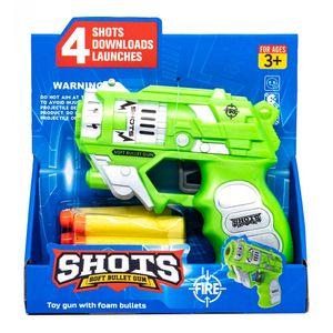 Lanzador Shots Con 4 Dardos