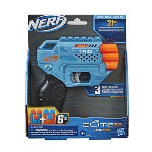 Pistola Lanzador Nerf Elite 2.0 Trio TD-3