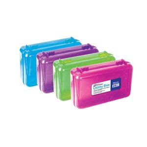 Caja Plástica Bazic Escarchada - Surtido