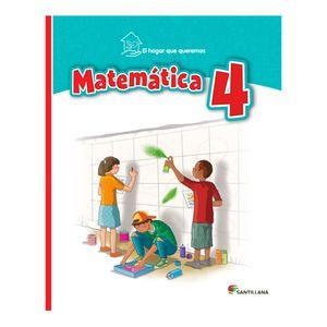 Libro de Texto Santillana Matemáticas 4