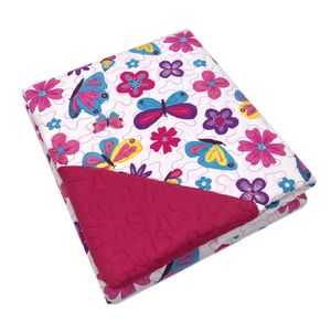 Sobrecama Home Accents Butterfly Twin 2 Piezas