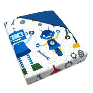 Sobrecama Home Accents Robot Twin 2 Piezas