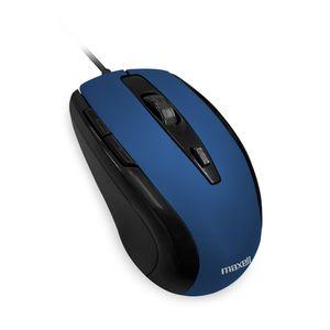Mouse Maxell Óptico de 5 Botones Azul