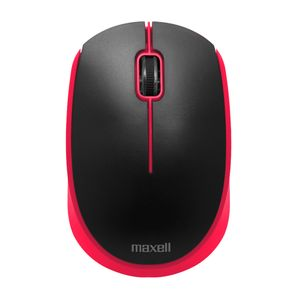 Mouse Inalámbrico Maxell Básico Óptico 2.4GHZ Rojo