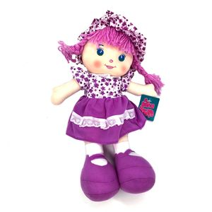 "Muñeca de Trapo Star Toys Top Flores 14"""