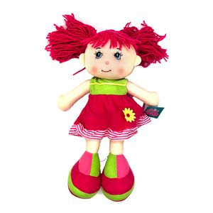 """Muñeca de Trapo Star Toys Flor Amarilla 14"""""""