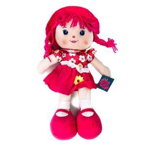 "Muñeca de Trapo Star Toys Con Falda de Flores 14"""