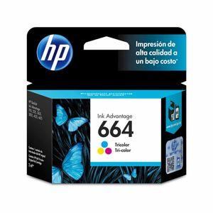 Cartucho Tinta HP 664 Tri-Color Original