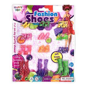 Zapatos Star Toys Para Muñecas 12 Pares - Surtido