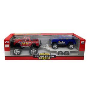 Camioneta Trailer Star Toys Con Volquete - Surtido