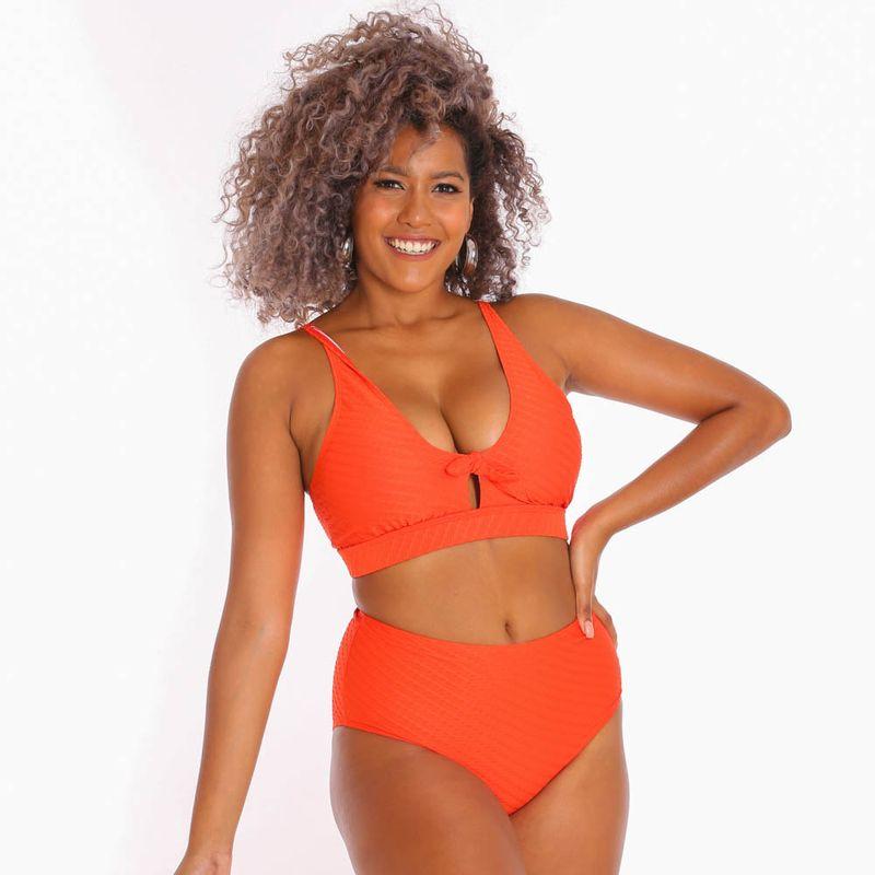 dama-vestido-de-bano-naranja-10745776_2
