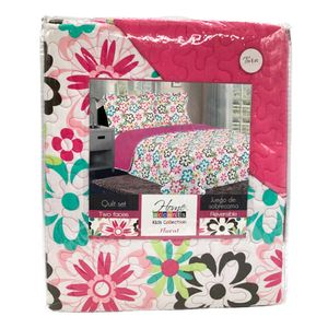 Sobrecama Floral Home Accents Reversible