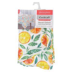 "Mantel de Mesa Scarlett Classics Cocktail Estampado 60"" x 90"""
