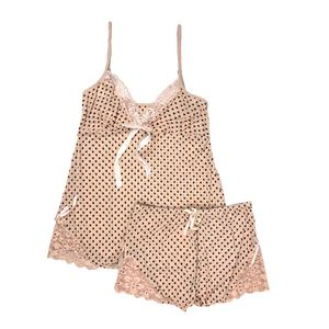 Conjunto de Pijama Short Aomeiweiya Para Dama