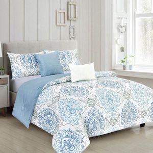 Comforter Rt Designer Fabiola Reversible 5 Piezas