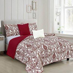 Comforter Rt Designer Fatima Reversible 5 Piezas