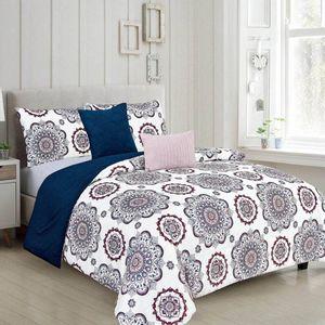 Comforter Rt Designer Faith Reversible 5 Piezas