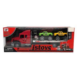 Mula City Truck Jstoys 1:32 Scale Con 2 Carros - Surtido
