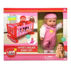 Bebé Love Baby Con Cuna de 30 cm - Surtido