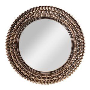 Espejo Decorativo Elico Redondo de Plástico