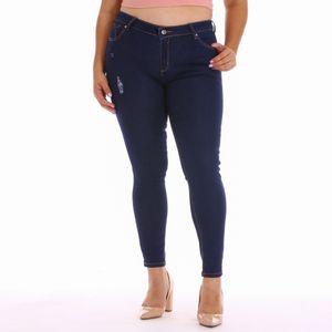 Pantalon Jean Almost Perfect Para Dama Talla Grande