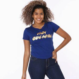 Camiseta Manga Corta La Fashion Para Dama