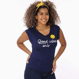 Camiseta Manga Corta Ooh Lala Para Dama