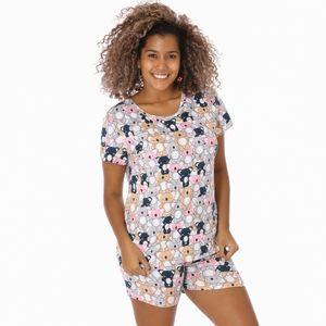 Pijama Conjunto Short Diva Linda Para Dama