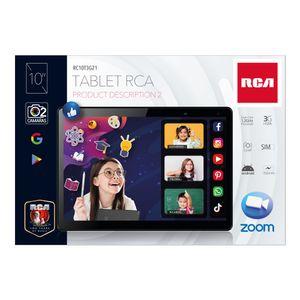 """Tablet Rca 3G Memoria de 2GB Rom de 16 GB de 10"""""""
