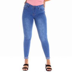 Pantalón Jean Bella Figura Para Dama