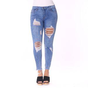 Pantalón Jean Lulumari Para Dama