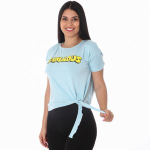Camiseta Manga Corta Peppermint Para Dama