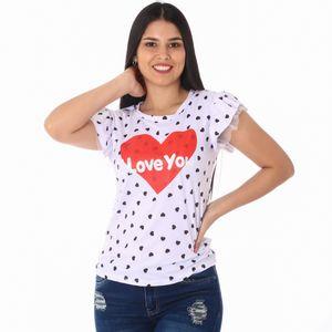Camiseta Manga Corta Hot Delicious Para Dama