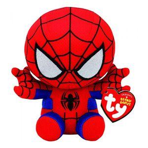 Peluche Ty Spiderman Marvel de 14 cm