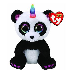 Peluche Ty Panda Paris Unicornio
