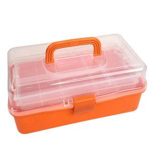 """Caja Home Elegance Multiuso Plástico 15"""" x 6"""" - Surtido"""