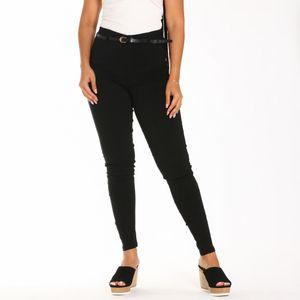 Pantalón Casual Wetlook Para Dama