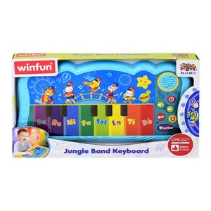 Teclado Winfun Jungle Band