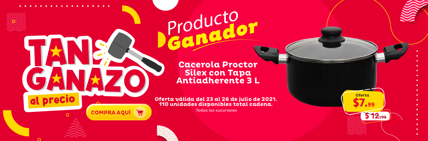 Cacerola Proctor Silex